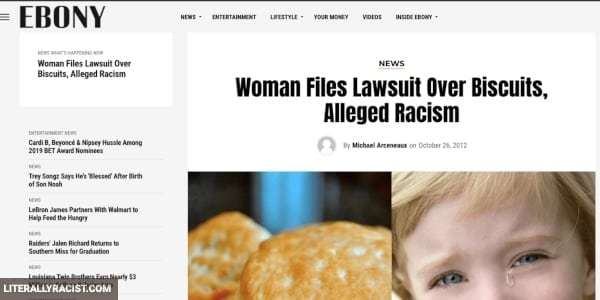 Damn White People And Their Racist Biscuits