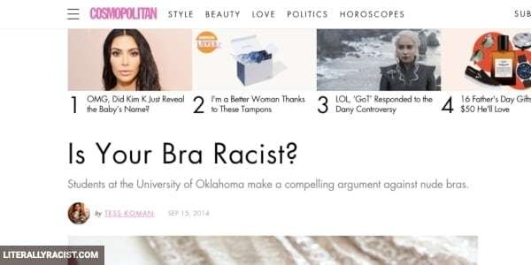 Damn White People And Their Racist Bras