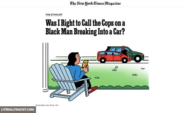 Damn White People And Their Racist Calling The Police on Black Criminals