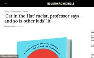 Damn White People And Their Racist Cat In The Hat Book