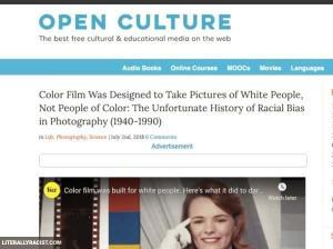 Damn White People And Their Racist Color Film