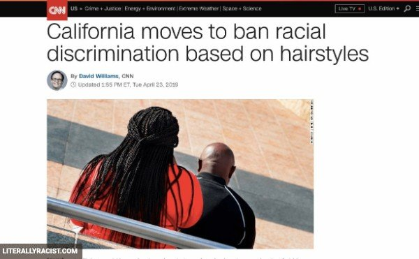 Damn White People And Their Racist Hairstyles