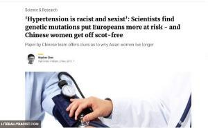 Damn White People And Their Racist Heart Disease