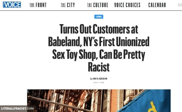 Damn White People And Their Racist Not Wanting Black Sex Toys