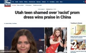 Damn White People And Their Racist Prom Dresses