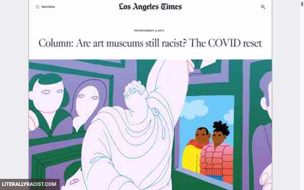 Damn White People And Their Racist Art Museums