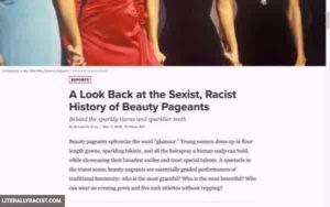 Racist Beauty Pageants