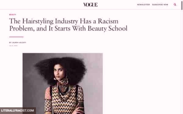 Damn White People And Their Racist Beauty Schools