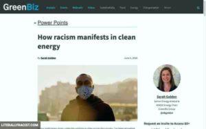 Racist Clean Energy