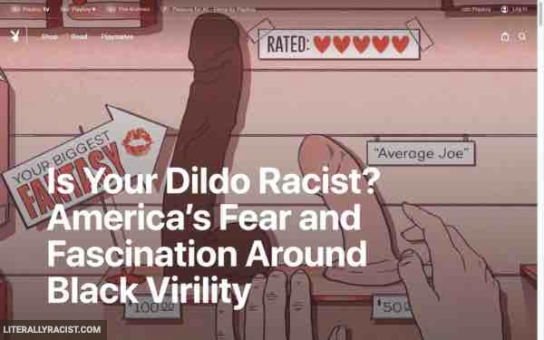 Damn White People And Their Racist Dildos