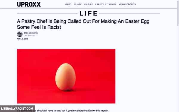 Damn White People And Their Racist Easter Eggs