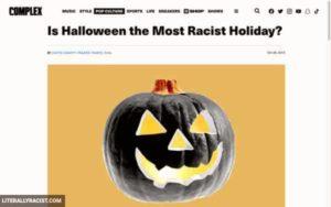 Racist Halloween