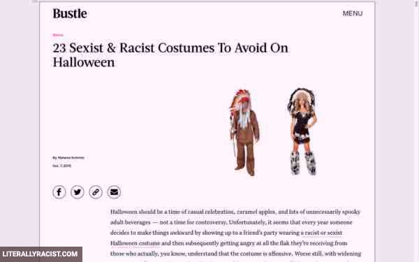 Damn White People And Their Racist Halloween Costumes