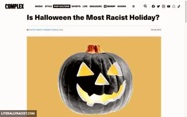 Damn White People And Their Racist Halloween