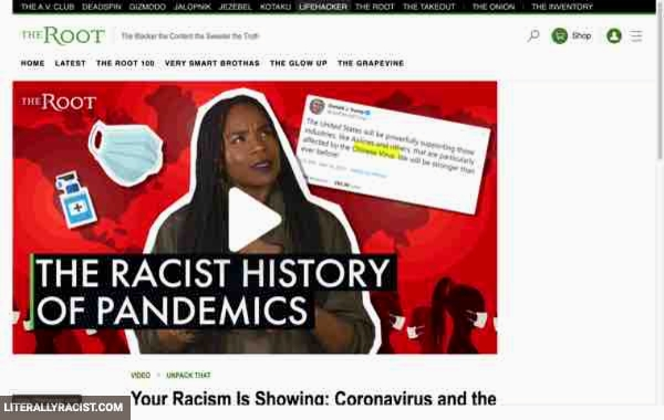 Damn White People And Their Racist History Of Pandemics