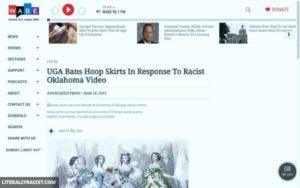 Racist Hoop Skirts