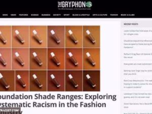 Racist Makeup Foundation Colors