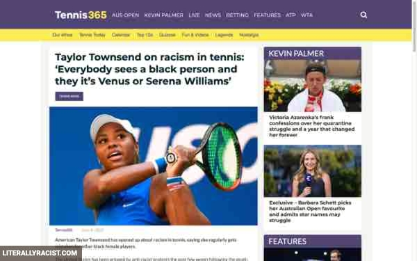 Damn White People And Their Racist Way Of Seeing Tennis Players