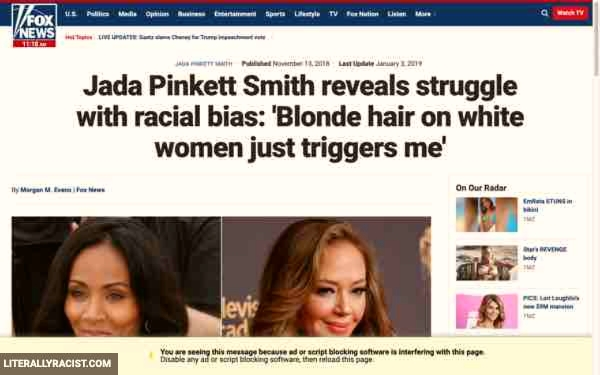 Damn White People And Their Racist White Women With Blond Hair
