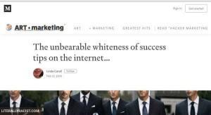 Damn White People And Their Success Tips