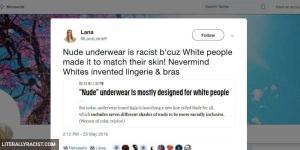 Damn White People And Their Underwear