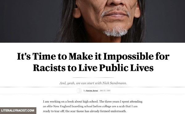 Damn White People And Their Racist Wanting To Have Normal Lives