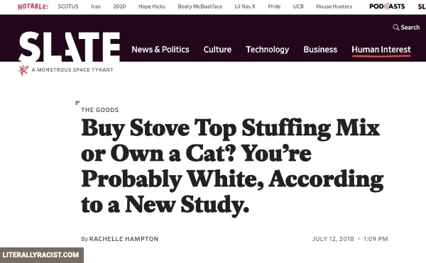 Damn White People And Their Racist Way of Buying Stove Top Stuffing