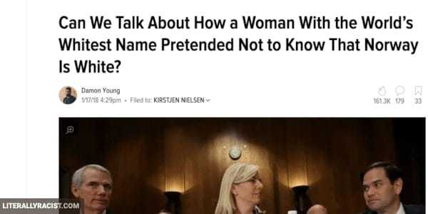 Damn White People And Their Racist White People Names